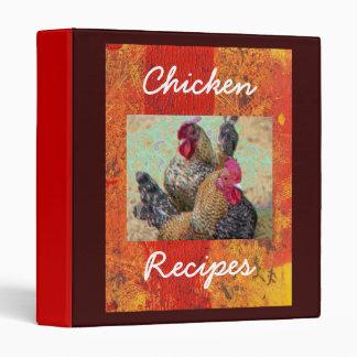Chicken Recipes Binder