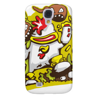 chicken robot design art galaxy s4 case