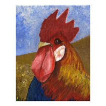 Chicken / Rooster Painting Letterhead
