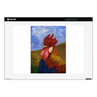 Chicken / Rooster Painting Skin For Laptop