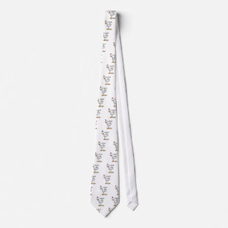 Chicken Says Cluck T-shirts and Gifts Neck Tie
