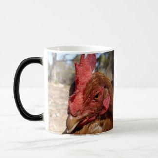 Chicken_Scowl_Magic_Morph_Coffee_Mug. Magic Mug