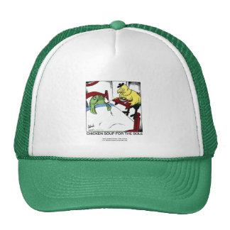 Chicken Soup 4 The Sole Cartoon Cap Trucker Hat