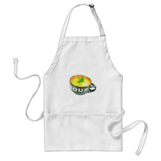 Chicken soup adult apron