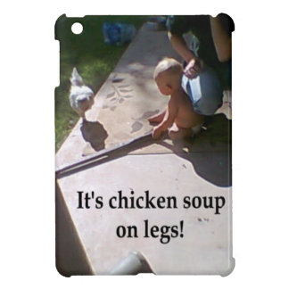 Chicken Soup On Legs Case For The iPad Mini