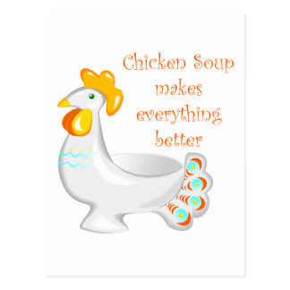 Chicken Soup Postcards