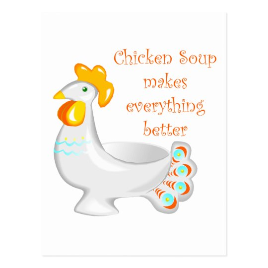Chicken Soup Postcard