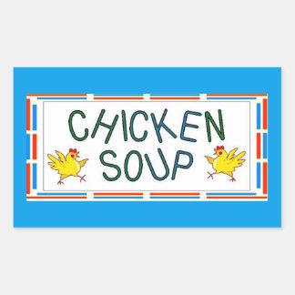 Chicken Soup Rectangular Sticker