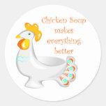 Chicken Soup Sticker