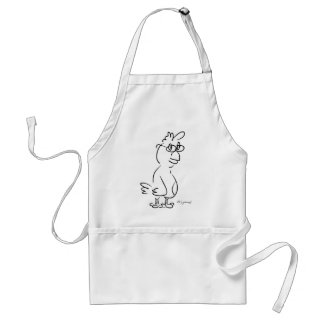 Chicken Specs Adult Apron