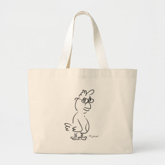 Chicken Specs Large Tote Bag
