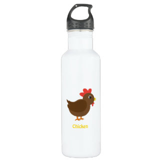 Chicken Stainless Steel Water Bottle