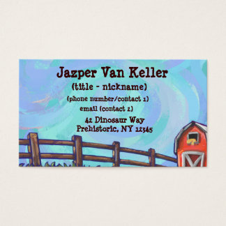 Chicken Stationery Business Card
