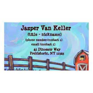 Chicken Stationery Double-Sided Standard Business Cards (Pack Of 100)