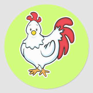 Chicken sticker