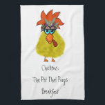 """Chicken towel<br><div class=""""desc"""">Will bring humor to any kitchen.</div>"""
