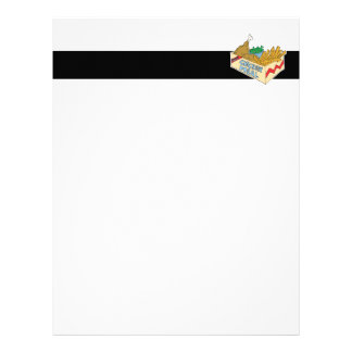 chicken value meal in a box letterhead