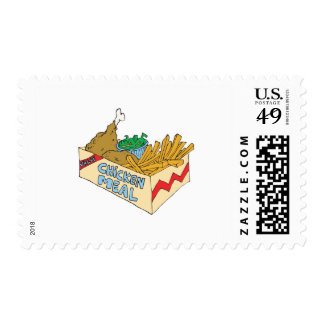 chicken value meal in a box stamps