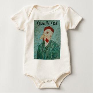 Chicken Van Cluck Baby Bodysuit