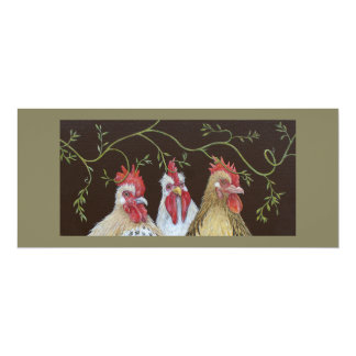 Chicken Vine flat card