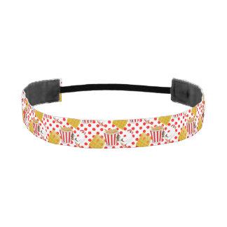 chicken waffles headband athletic headbands