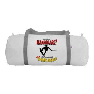 Chicken WAKEBOARD 1 (Black) Duffle Bag