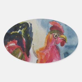 Chicken Walking Sticker