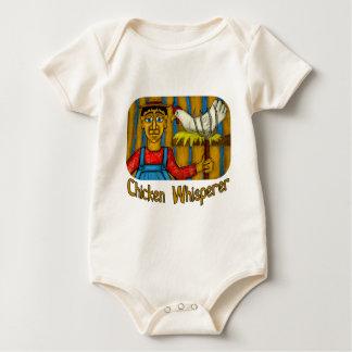 Chicken Whisperer Baby Bodysuit