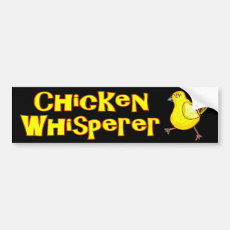 Chicken Whisperer Bumper Sticker