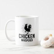 Chicken Whisperer Funny Farm Chicken Face Farming Coffee Mug