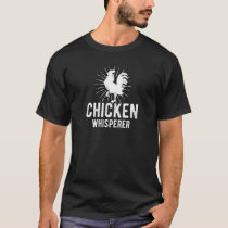 Chicken Whisperer Funny Farm Chicken Face Farming T-Shirt