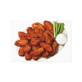 Chicken Wings Canvas Print