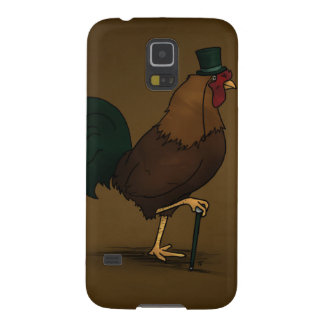Chicken with a tophat phone case! case for galaxy s5