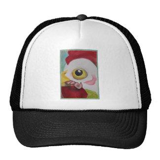 Chicken With A Worm Trucker Hat