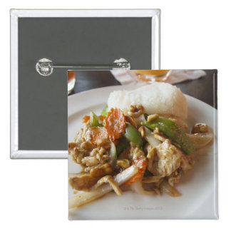 Chicken with Cashews Pinback Buttons