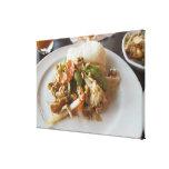 Chicken with Cashews Canvas Print