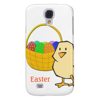 Chicken with Easter Basket of Eggs Samsung S4 Case