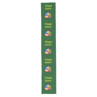 Chicken with Easter Eggs #1 Long Table Runner