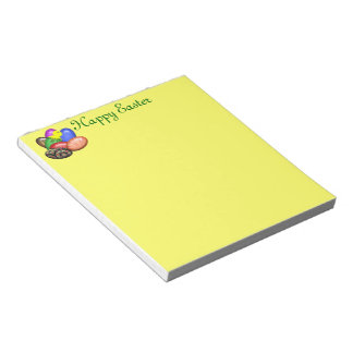Chicken with Easter Eggs #1 Notepad