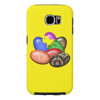 Chicken with Easter Eggs #1 Samsung Galaxy S6 Case