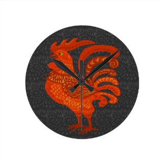 Chicken Year Round Clock