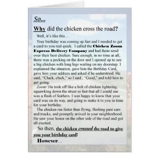 Awesome Chicken Birthday Cards Zazzle Funny Birthday Cards Online Drosicarndamsfinfo