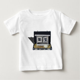 ChickenCoopBriefcase031415.png Baby T-Shirt