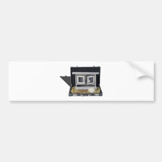 ChickenCoopBriefcase031415.png Bumper Sticker