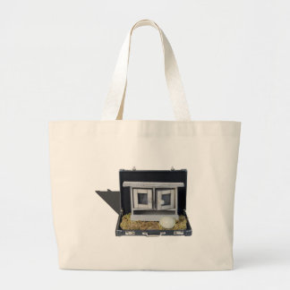 ChickenCoopBriefcase031415.png Large Tote Bag