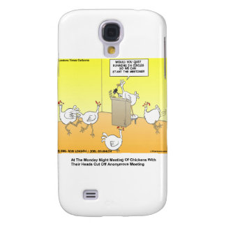Chickenhead Anonymous Cartoon Gifts &  Galaxy S4 Cover