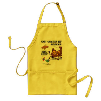 ChickenOrBeef Adult Apron