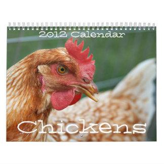 Chickens 2011 Calendar