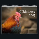 """Chickens 2014 ( With Bible Passages ) Calendar<br><div class=""""desc"""">Beautiful chicken photos for the chicken lover.</div>"""