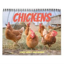 Chickens 2019 - Happy Harvest farm Calendar